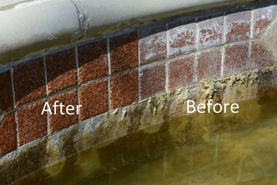 pool chemicals in cleaning